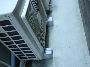 取付事例:エアコン室外機